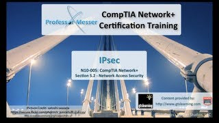 Thumbnail of YouTube video: IPsec - CompTIA Network+ N10-005: 5.2